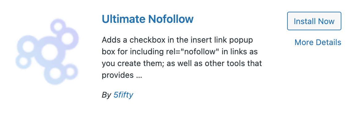 Plugin wajib WordPress - Ultimate nofollow