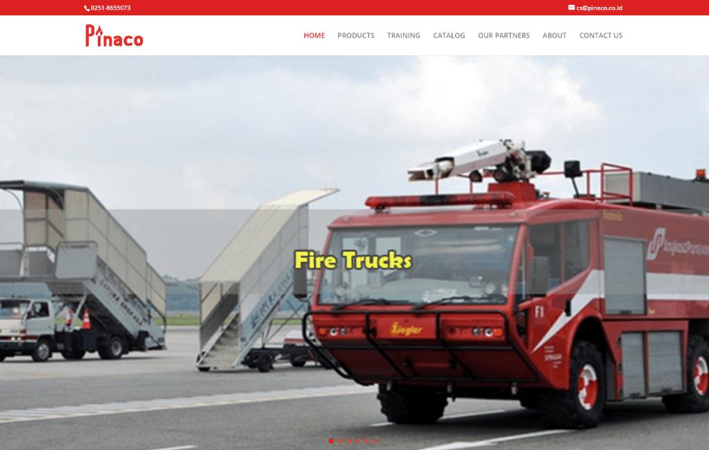 jasa pembuatan website alat pemasam kebakaran