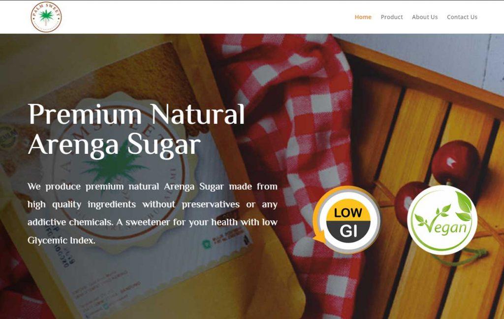 jasa pembuatan website industri gula