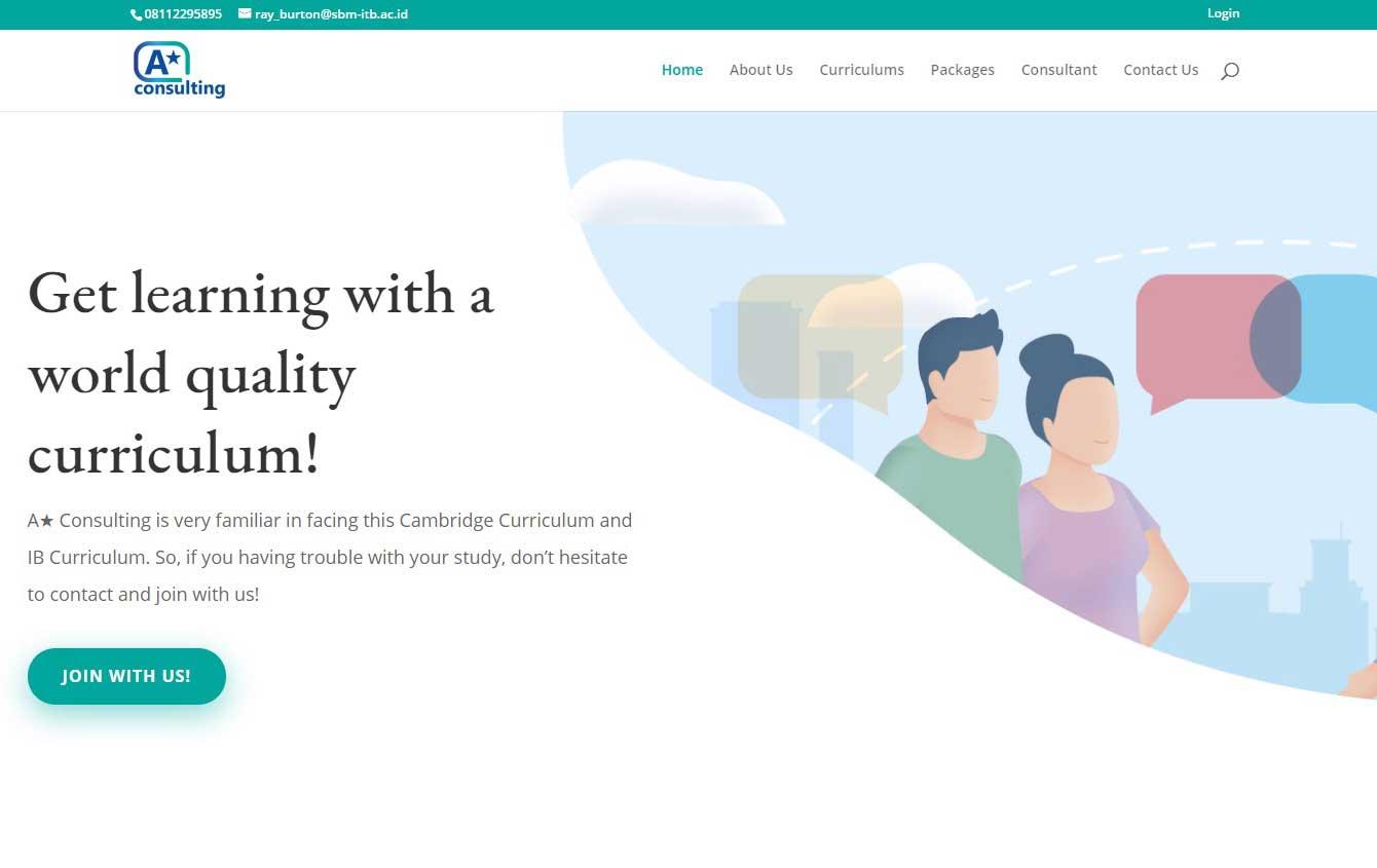 jasa pembuatan website konsultasi pendidikan