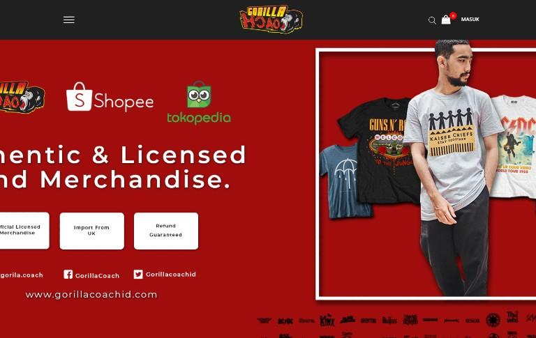 Jasa buat website toko pakaian