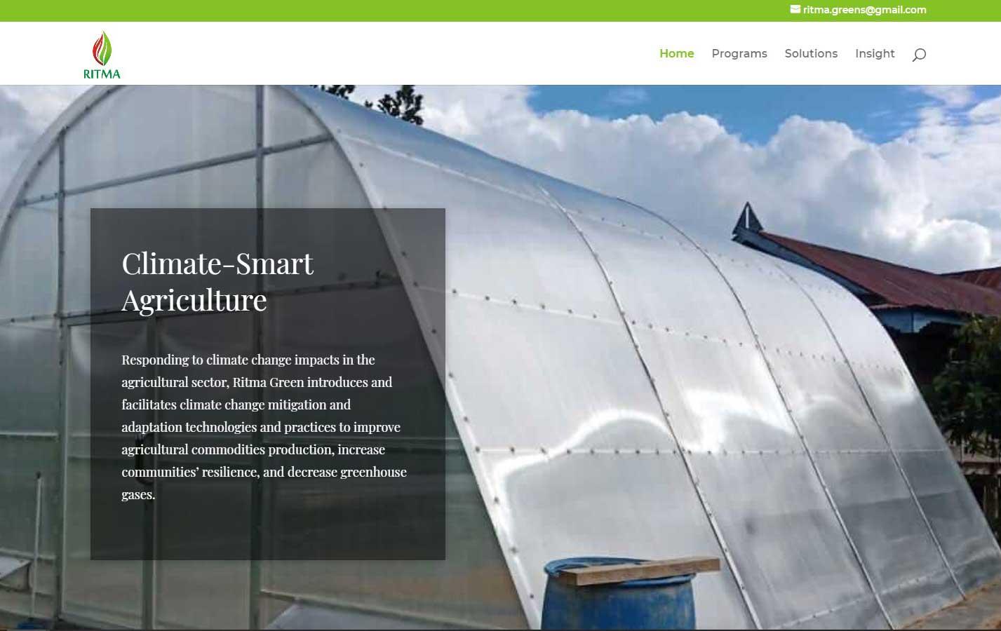 jasa bikin website agriculture