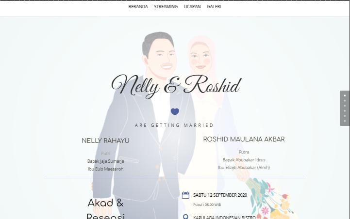 jasa bikin website wedding