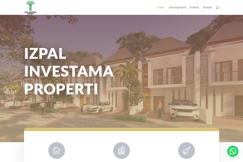 Jasa buat website property